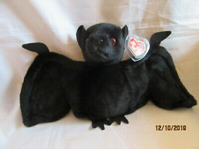 Ty Beanie Buddy - Batty - The Black Bat  Retired With Tag - Lovely Condition • 49.99£