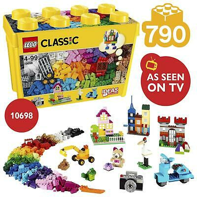 LEGO Classic Large Creative Brick Box Set 790 Pieces 10698 • 25.95£