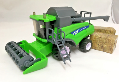 Large Kids Combine Harvester 3 Colours Tractor Toy Farm Play Set • 12.99£