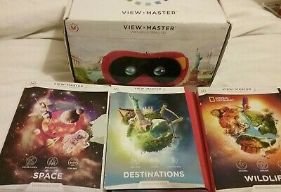 Viewmaster Viewer With 3 Set A Of Virtual Slides  • 25£
