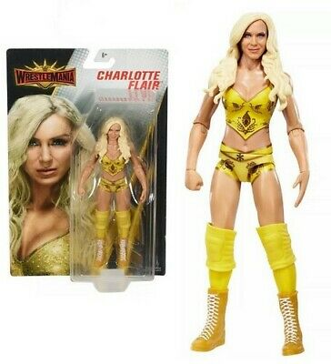 Mattel Wwe Wrestlemania Core 6  Action Figures - Charlotte Flair - New Boxed • 17.99£