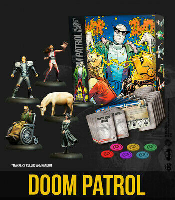 Knight Models Batman Miniature Game - Doom Patrol Bat-Box • 59.99£