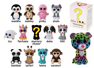 TY MINI BOOS Collectibles Hand Painted Figures Mystery Dotty Fantasia Series 1 • 8.99£