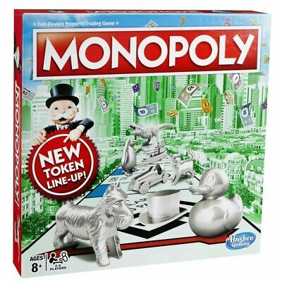 Hasbro Monopoly Fast Dealing Family Property Trading Board Game • 19.99£