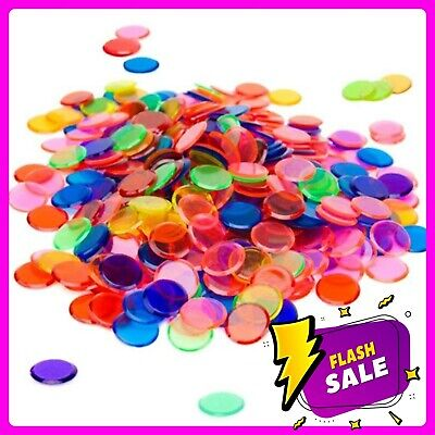 Discs 360 Multi-coloured Discs Counters Kids Games Maths Coloured Counters Chips • 5.85£