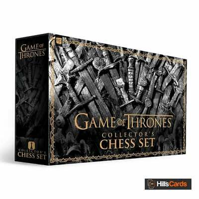 Game Of Thrones Collector's Chess Set By USAopoly USOCH104376 | New & Sealed • 79.95£