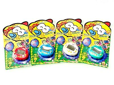 New 90's Dinkie Dinos Tamagotchi Retro Pets Cyber Pet 24 In 1 (Gift) • 4.25£