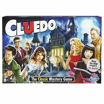 Hasbro Cluedo Murder Mystery Board Game New Dr Orchid Edition • 15.99£