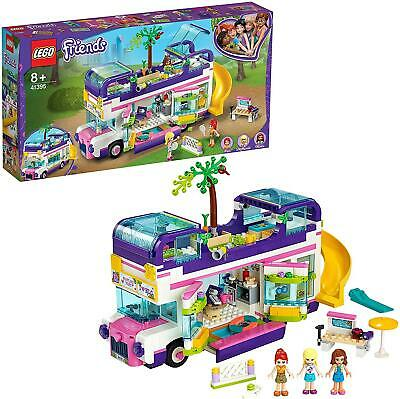 LEGO 41395 Friends Friendship Bus Toy with Swimming Pool, Slide, Summer Holiday • 43.95£