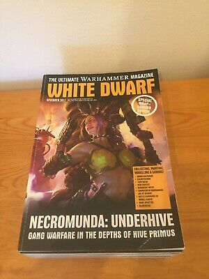 The Ultimate Warhammer Magazines Lot White Dwarf 12 Issues From 2016-2017 • 34.95£