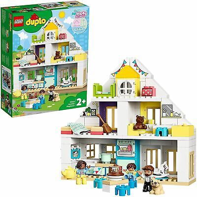 LEGO 10929 DUPLO Town Modular Playhouse 3-in-1 Set, House with Figures & Animals • 47.95£