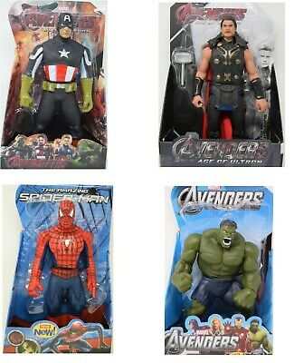 12  Action Figure Super Hero Avengers Series - Choice Of 4 Super Heroes - New • 13.99£