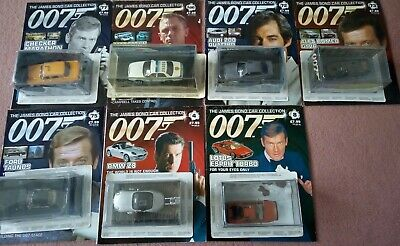 James Bond Car Collection 7 Issues • 65£