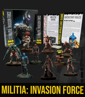 Knight Models Batman Miniature Game - Militia: Invasion Force • 49.99£