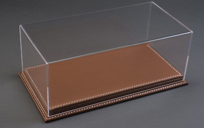 Atlantic Display 10083 Case 1:43 Scale Model Display Case (brown Leather Base) • 35£