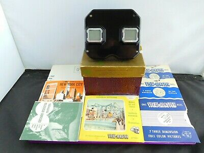 Lovely Boxed Vintage View Master & 9 Slides • 34£