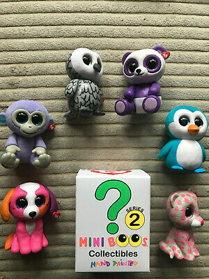 TY MINI BOOS Collectibles Series 2 Hand Painted Mini Figure Choose YOUR OWN • 6.45£