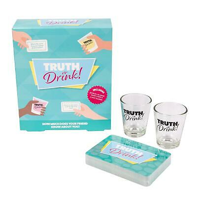 Drinking Game Truth Or Drink Card Game And Shot Adult Game Hen Stag Party • 6.99£