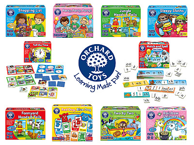 Orchard Toys - Educational Games For Kids - Choose Game From Drop Down Menu • 9.99£