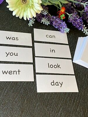 Educational Flash Cards - 45 High Frequency Words -KS1 -  Immediate Free Postage • 3.20£
