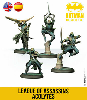 Knight Models Batman Miniature Game 3rd Edition - League Of Assassins Acolytes • 34.99£