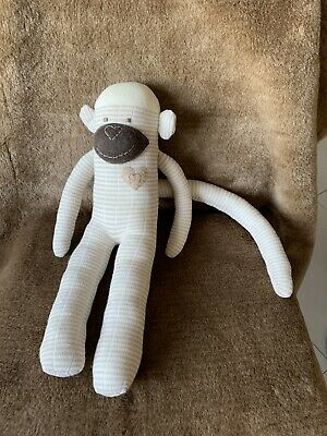 🐒🙊 Cute Handmade Sock Monkey ~ 15 Inch Approx 🐵🐒 • 8£