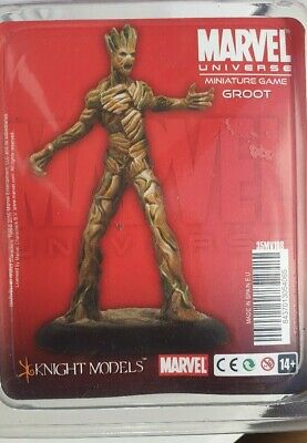 Knight Models Marvel Miniatures Game Groot Guardians Of The Galaxy • 80£