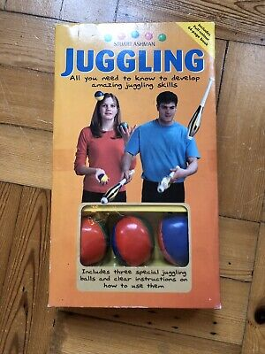 New & Boxed - Learn To Juggle Book And 3 Balls • 7.99£