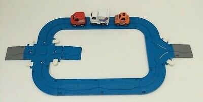 Vintage Tomy TOY CAR SET Fun Run World With 3 Cars • 14.99£