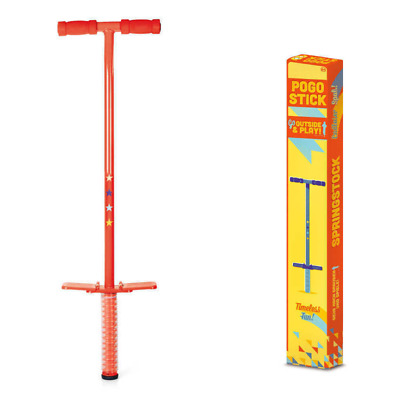Pogo Stick Childrens Kids Outdoor Jump Bounce Toy Popular Fun Gift Girls Boys • 23.99£