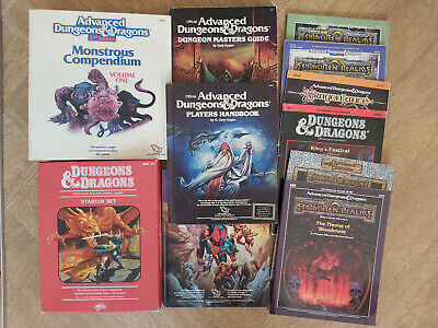 Vintage Advanced Dungeons And Dragons 1st And 2nd Edition Multilisting • 19.99£