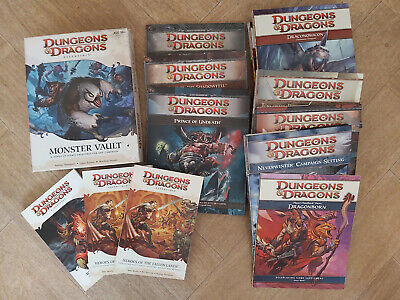 Dungeons And Dragons 4th Edition VGC Multilisting • 19.99£