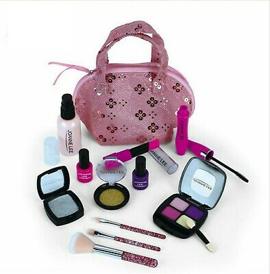 Girls Pretend Makeup Set, Safe, Non-toxic, Cosmetic Beauty Kit With Carry Bag • 10.49£