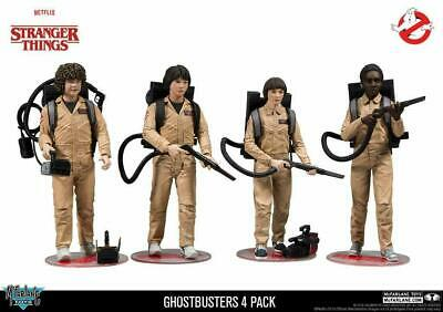 McFarlane Toys Stranger Things Ghostbusters Deluxe Action Figure 4 Pack • 47.99£
