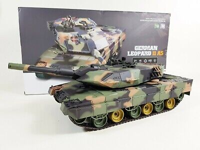 Heng Long 1/24 German Leopard 2 A5 Airsoft 2.4ghz V5 Infrared Radio Control Tank • 54.99£