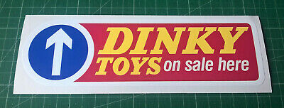 Large Dinky Toys Decal Door Sticker A 200mm Wide Professionally Printed • 2.99£