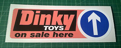 Large Dinky Toys Decal Door Sticker B 200mm Wide Professionally Printed • 2.99£