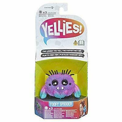 Yellies Toofy Spooder Voice-Activated Spider Pet • 4£