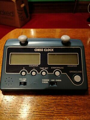 Digital Electronic Chess Clock - Brand New In Box. Blue • 6.95£