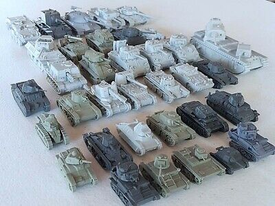 15mm - 1/100 - 3D Printed Vehicles - Flames Of War Etc. • 4.50£
