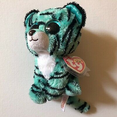 Ty Beanie Boo Tiger Justice Exclusive Tess Very Rare • 40£
