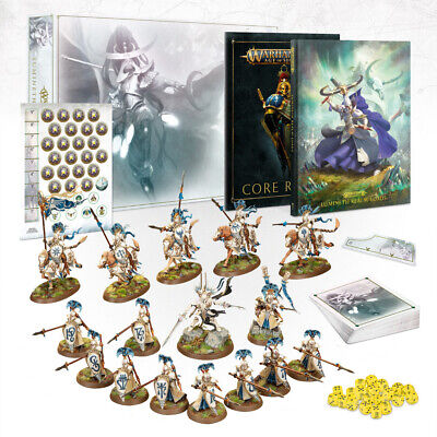 ** Games Workshop Age Of Sigmar Lumineth Realm-lords Army Box LIMITED EDITION!** • 86£