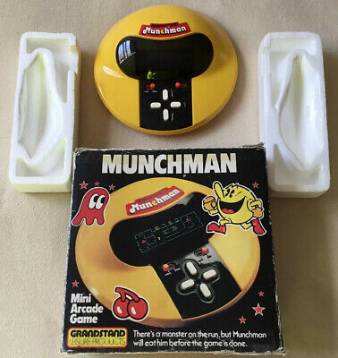 1981 Grandstand Munchman Electronic Game • 99.99£