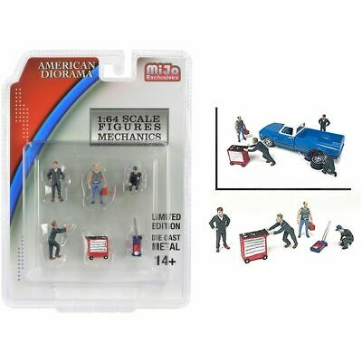 Mechanic Figures, Scale 1:64 By American Diorama • 15.99£