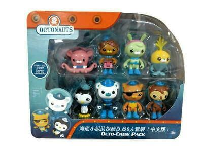 Fisher-Price Octonauts Octo-Crew, 8 Figure Pack - Playset, Barnacles And Friends • 12£
