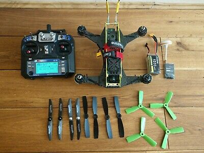 280 Scorpion FPV Quadcopter / Drone With Battery,Transmitter,Receiver,camera,etc • 197£