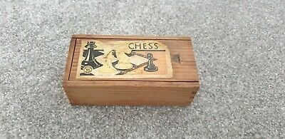 Vintage Wooden Chess Pieces • 3£