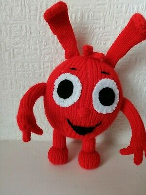 Morphle  Hand Knitted Unofficial Toy Looking For An Adventure  • 10.50£