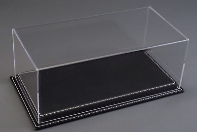 Atlantic Display 10079 Case 1:24 Scale Model Display Case (black Leather Base) • 40.95£