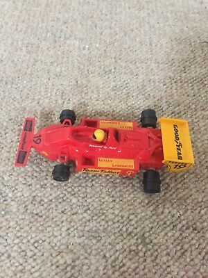 SCALEXTRIC TEAM TALBOT F1 CAR Used No Tyres • 1.26£